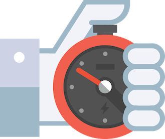 Stop clock icon